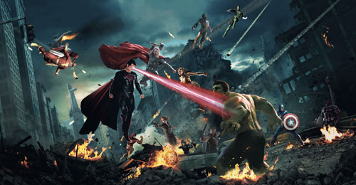 Sejarah Berdirinya DC vs Marvel