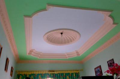 Mempercantik tampilan interior suatu ruangan sanggup dilakukan dengan aneka macam macam cara √ 29 Warna Plafon Gypsum Kamar Tidur dan Ruang Tamu yang Bagus