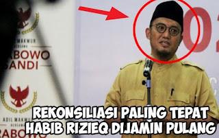 PA 212 dan Dahnil Anzar Simanjuntak Setuju Rekonsiliasi Jokowi-Prabowo Bisa Bawa Habib Rizieq Pulang