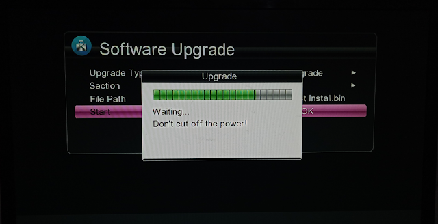 Screen Shot With Proof First Software Gx6605s 5815 V4.1 Down Upgrade From Original