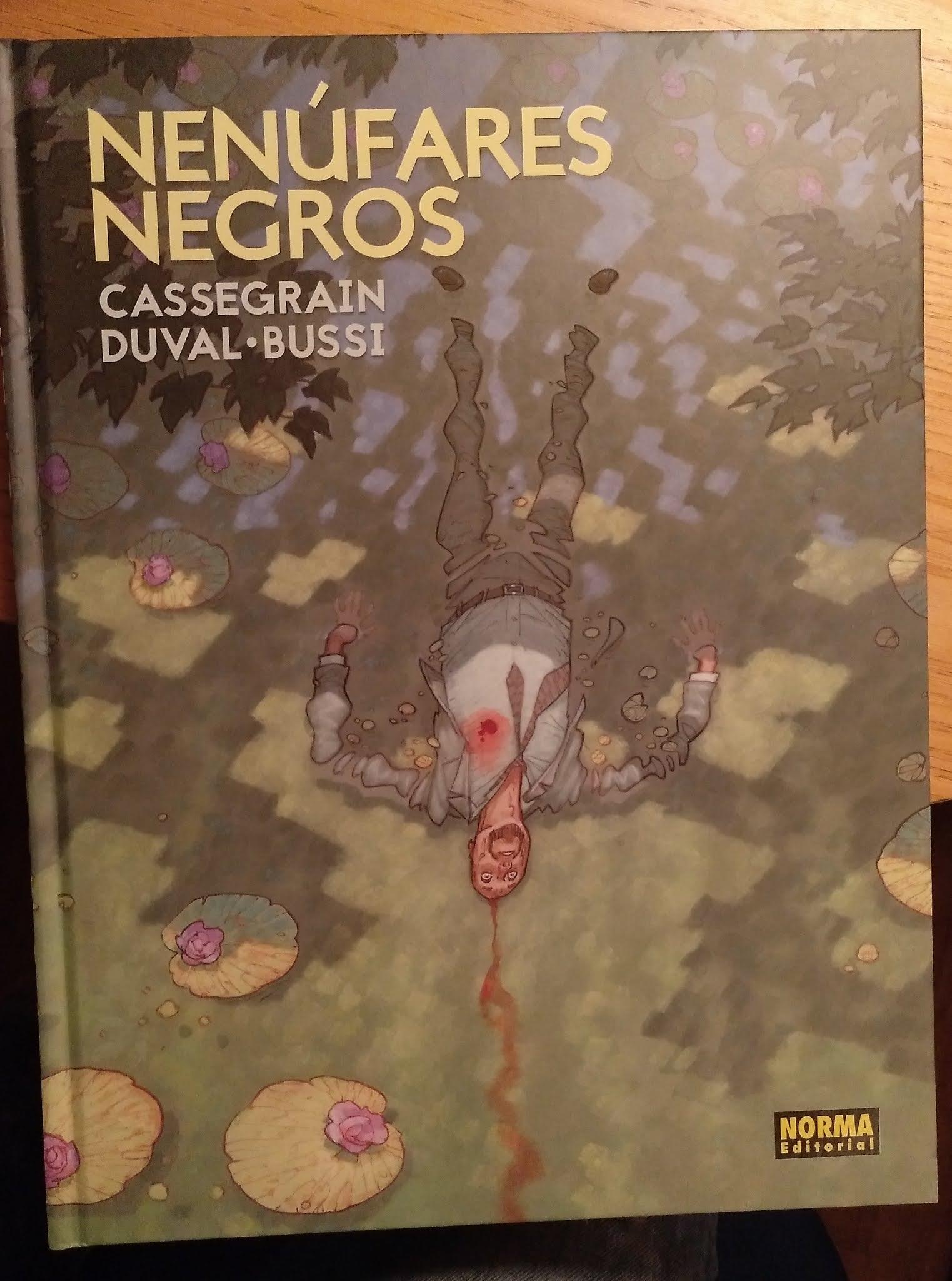 Es Sobre Libros Y Comics O Al Reves Nenufares Negros