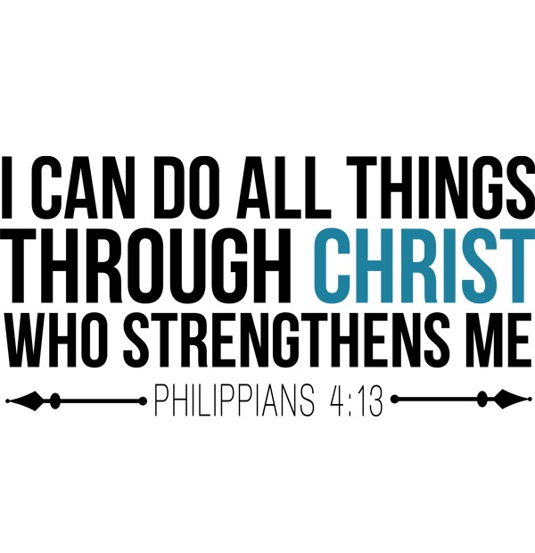 I Can Do All Things Through Christ Wallpaper: ...the Joy From Within