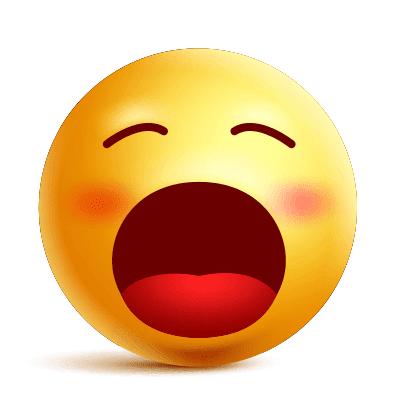 Giant Yawn Emoji