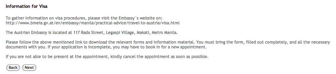 schengen visa online form