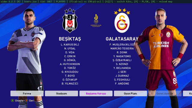 PES 2020 Süper Lig 2019-20 Kitpack by tekask1903