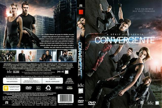 Capa DVD A Série Divergente: Convergente