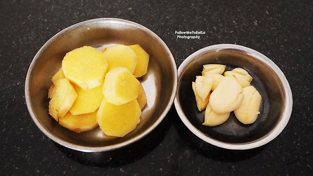 Ginger & Garlic Ingredients To Blend & Marinate
