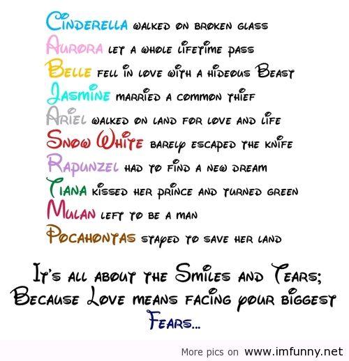 tumblr disney princess love quotes - photo #19