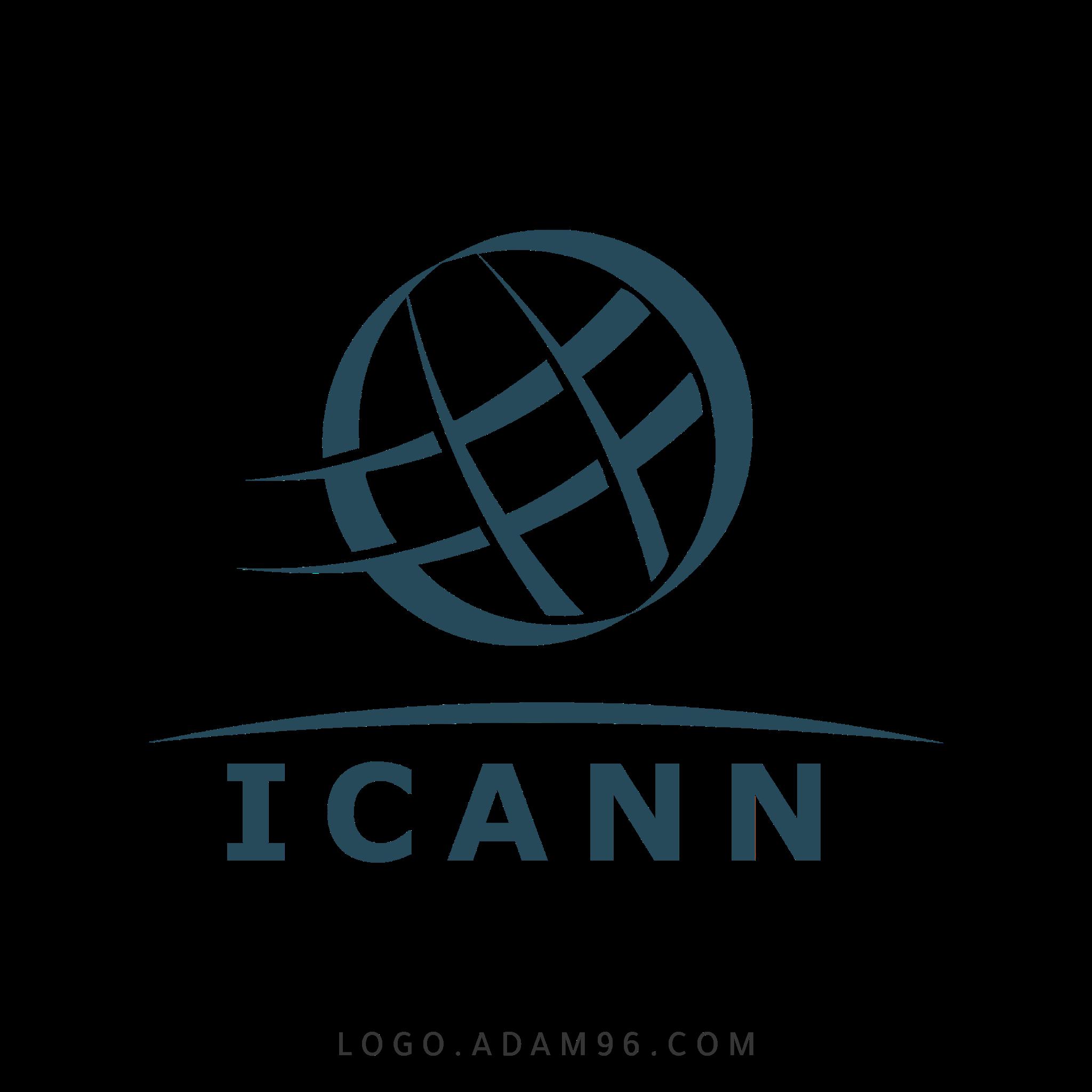 تحميل شعار منظمة آيكان العالمية لوجو شفاف Logo ICANN PNG