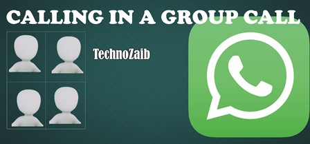 Want to call someone quickly via WhatsApp, who is participating in a group conversation?