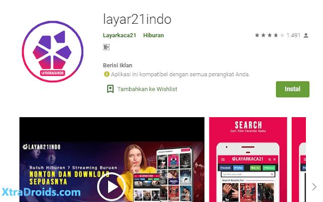 Aplikasi Layar21indo