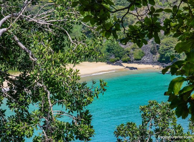 Praia da baía dos Porcos, Fernando de Noronha