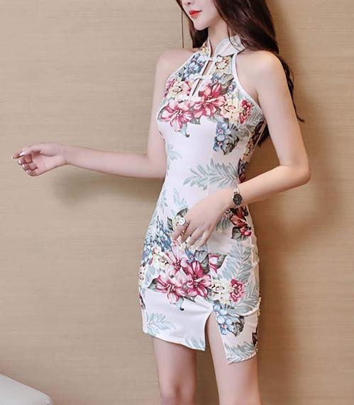 Mini Cheongsam Dresses