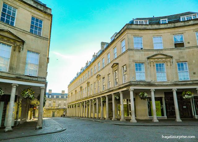 """Cenário de """"Persuasion"""" em Bath, Inglaterra"""