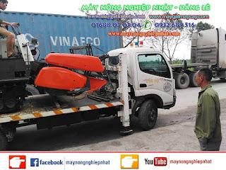 Bán máy gặt Kubota DC 70 thái lan bãi đi chí linh hải dương