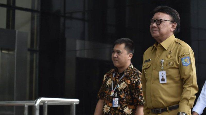 Terkait Kasus Suap Perizinan Meikarta, Mendagri Tjahjo Kumolo akan Diperiksa KPK