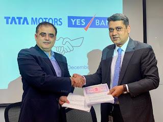 Tata motors and Yes Bank