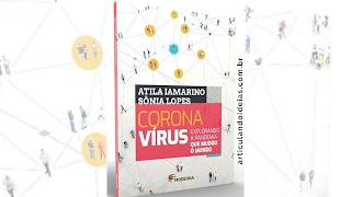 Capa do livro Coŕonavírus explorando a pandemia