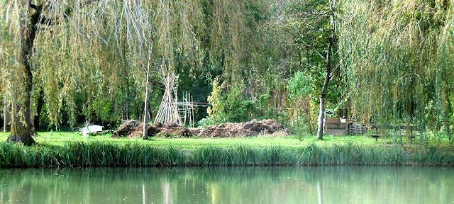 Community garden, Indre et Loire, France. Photo by Loire Valley Time Travel.
