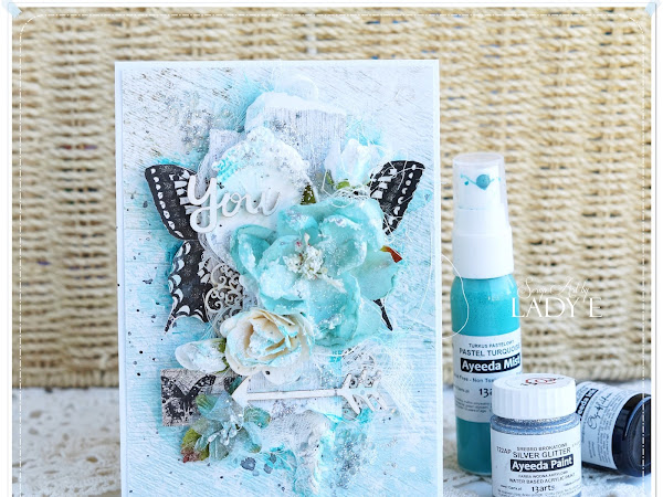 Mixed Media Butterfly Card