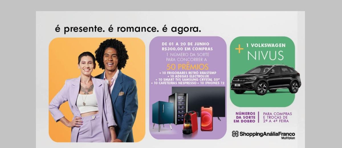 Promoção Anália Franco Dia dos Namorados 2021