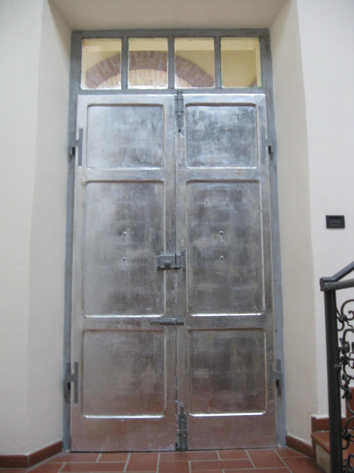 Sette Design Silver Leaf Doors