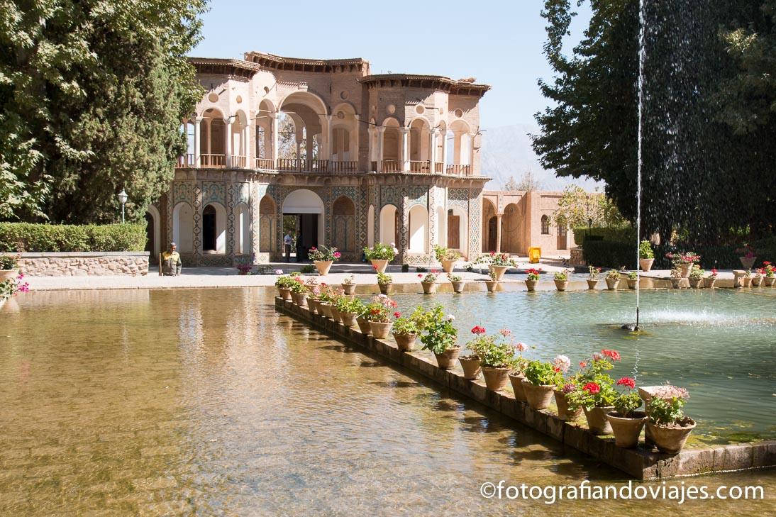 Bagh-e Shazdeh o jardín persa de Mahan