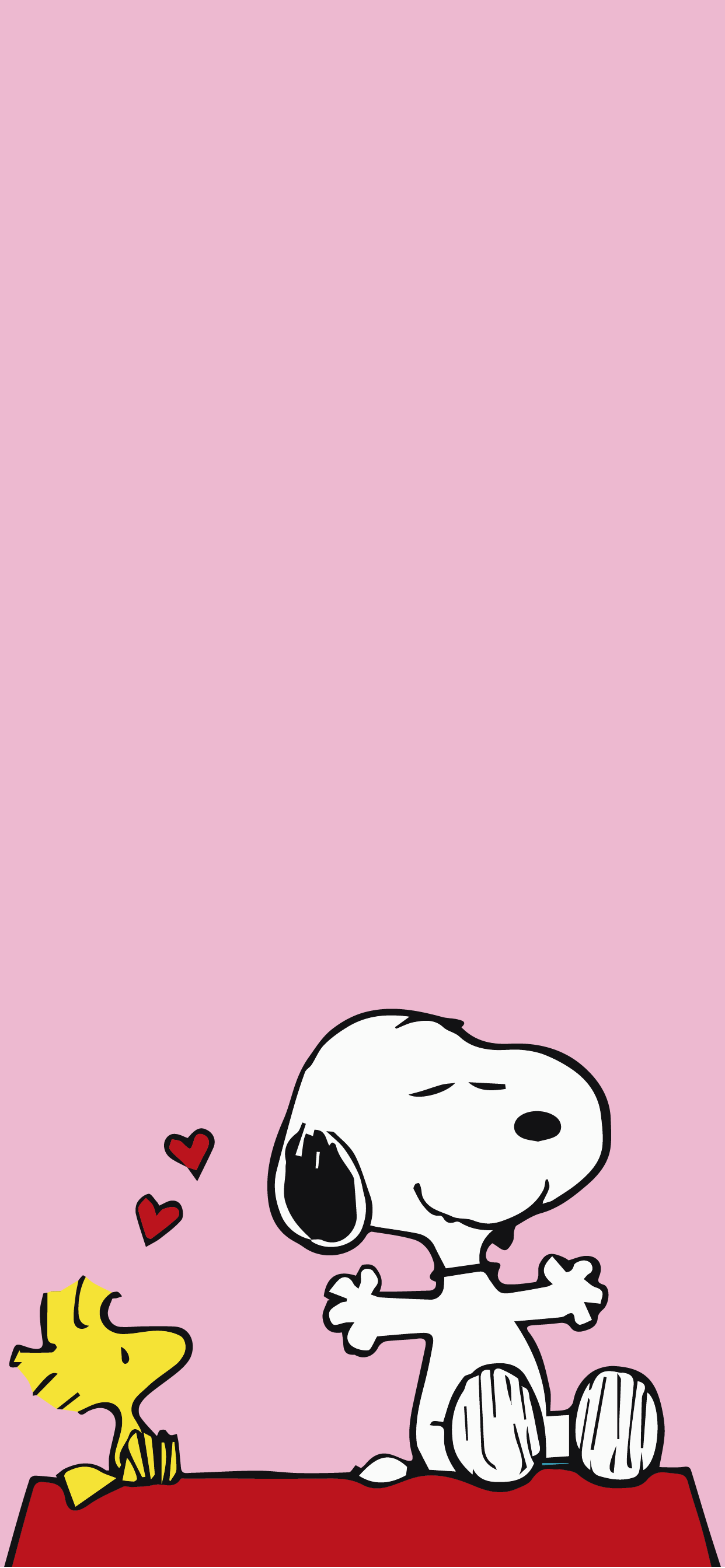 Snoopy and Woodstock bird Cute wallpaper hd for mobile phone