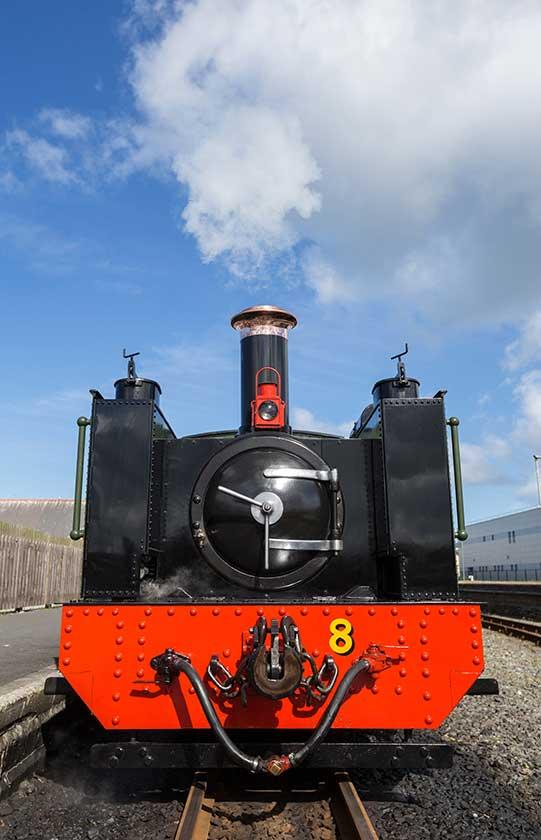 Rheidol Railway Wales.