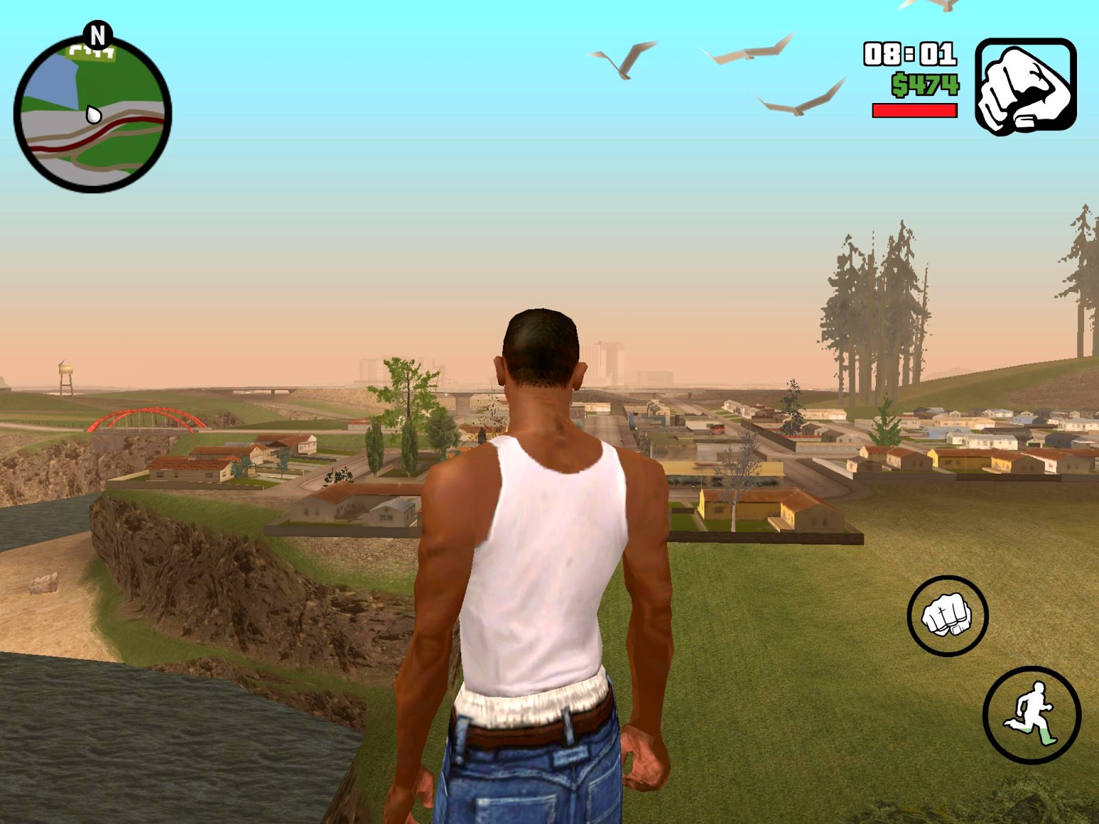 gta1 Grand Theft Auto San Andreas Apk v1.0.8 +Cheat +Data Apps