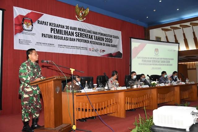 Jelang Pilkada di Jabar,  Pangdam III/Slw: Walau Kondisi Kondusif Tetap Tidak Boleh Lengah