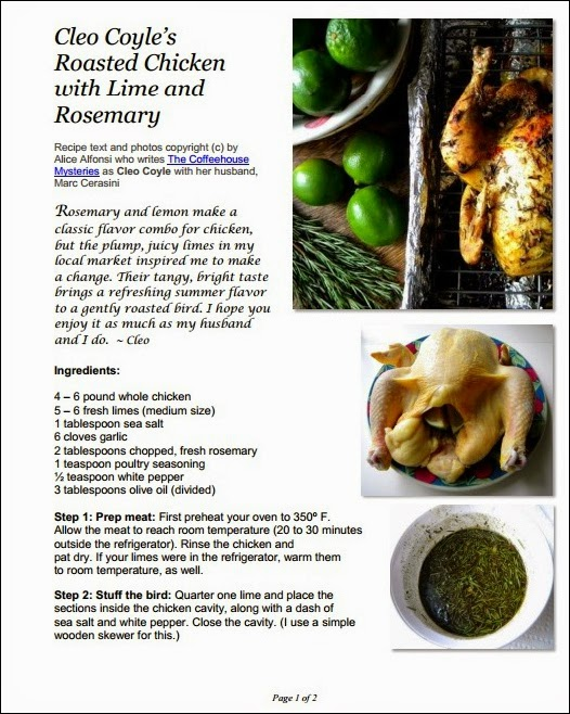 Rosemary lime chicken cleo coyle pdf coverg forumfinder Image collections