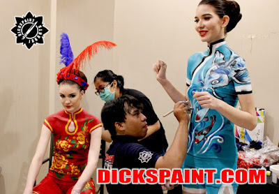 Body Painting Chinese New Year Jakarta