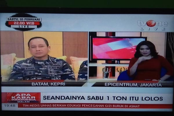 1 Ton sabu Asep Lukman