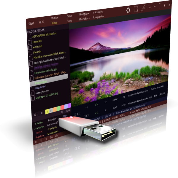 Ubiquitous Player 2016.07.25 | Increible todo en uno para ver imágenes, reproducir música, navegar por tus archivos y mucho más