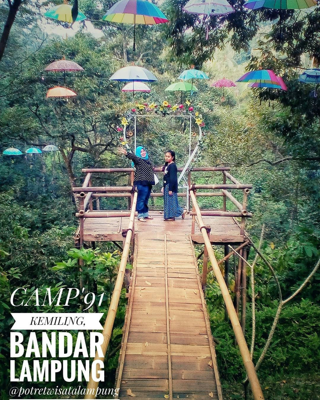 Camp 91 Bandar Lampung Kedaung Outbound