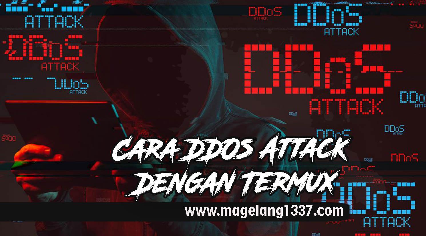 Cara DDOs Attack Dengan Termux | 100% Work - MNH-BLOG