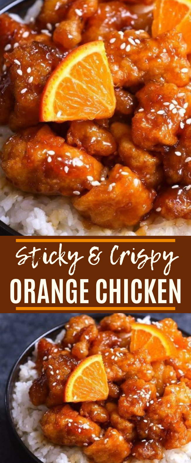 Orange Chicken #dinner #chicken