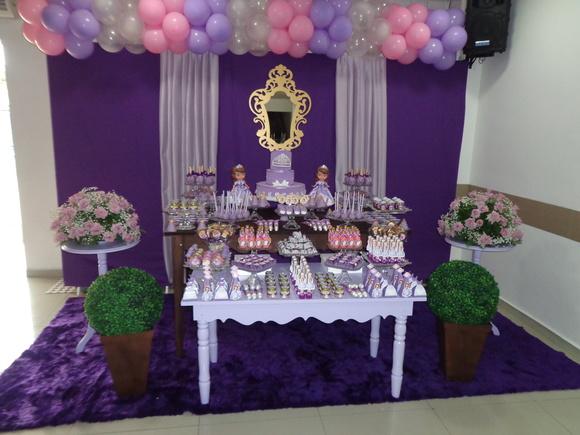 Mesas Princesa Sofia Para Festa Infantil
