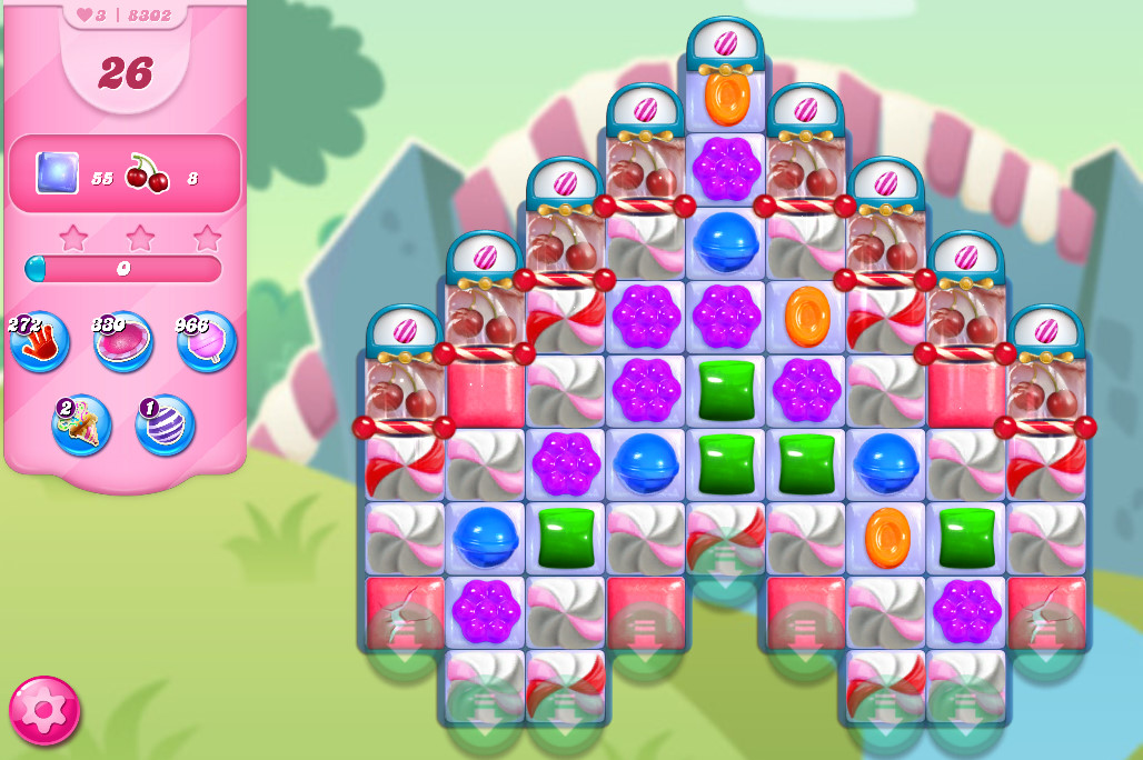 Candy Crush Saga level 8302
