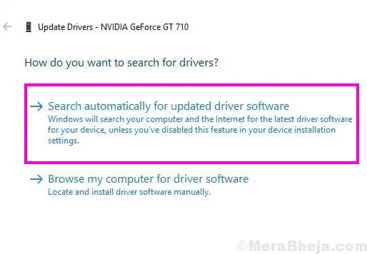 قم بتحديث برنامج تشغيل الرسومات NVIDIA لإصلاح المشكلة المفقودة في لوحة تحكم NVIDIA