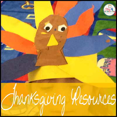 Thanksgiving Resource Round-up- reading, writing, math and art.  Everything you need to to keep your centers fun and engaging.