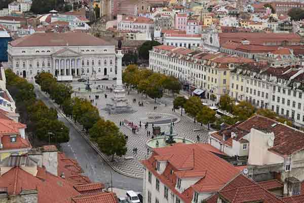 La Plaza del Rossío