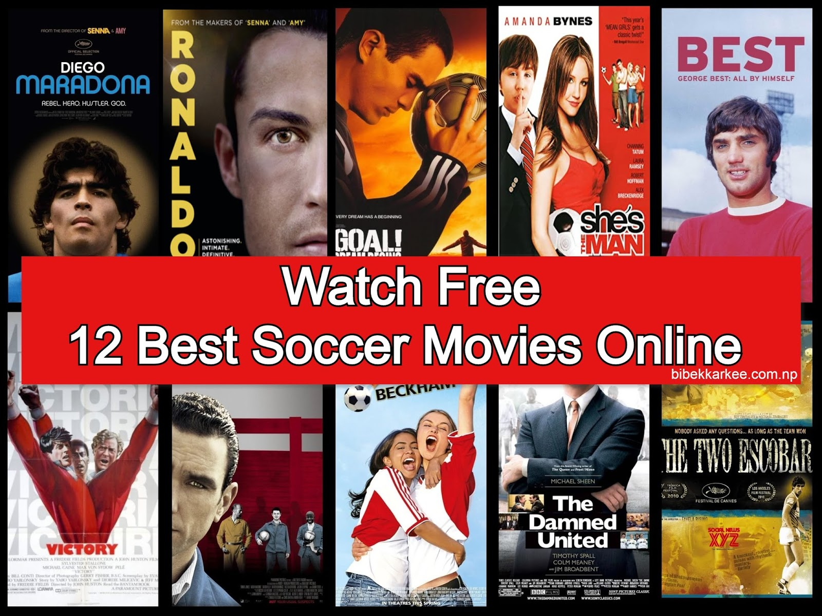 Best soccer or football movies to watch for free online