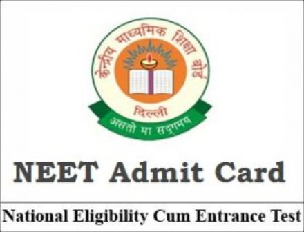 NEET 2017: Download NEET Admit Card 2017 NEET 2017: Download NEET Admit Card 2017 today. Check www.cbseneet.nic.in The NEET 2017 for admission to MBBS/BDS courses in medical/dental colleges is run with the approval of MCI/Dental Council of India./2017/04/neet-2017-download-neet-admit-card-2017.html