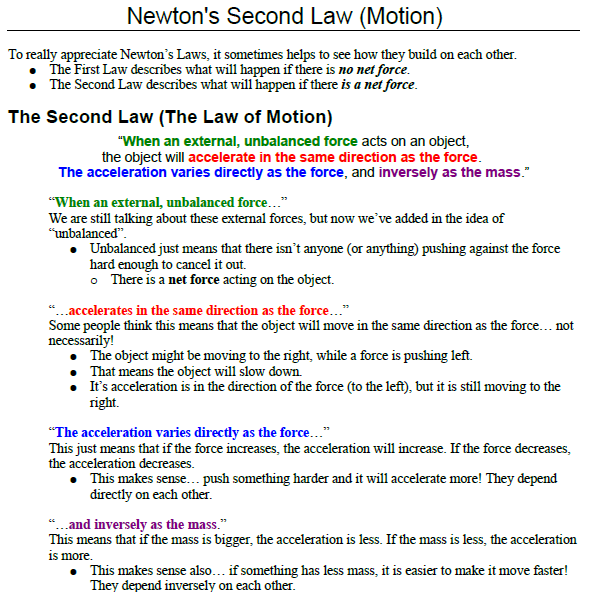 Newton second law,second law of motion,example,solved,