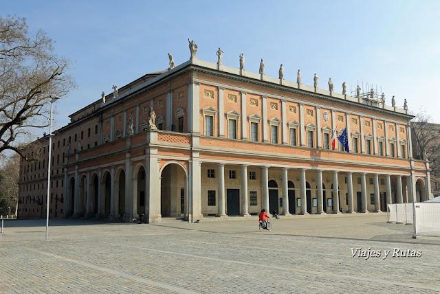 Teatro municipal, Ópera, Reggio Emilia, Italia