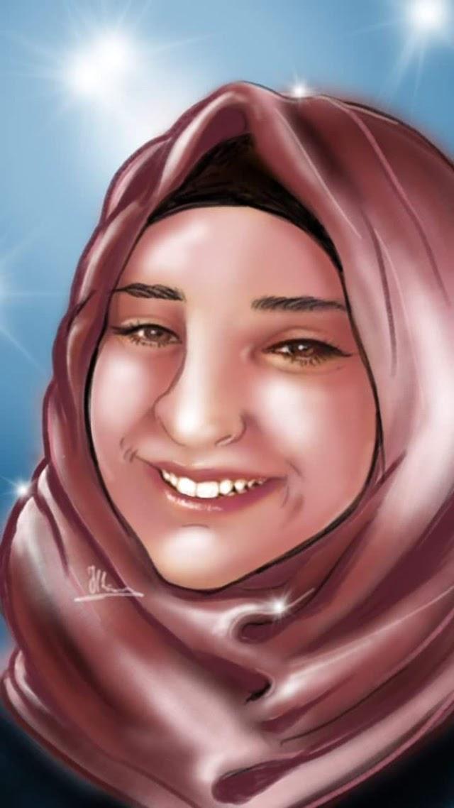 #صورة   الأسيرة الطفلة الجريحة نورهان عواد (16عاماً)
