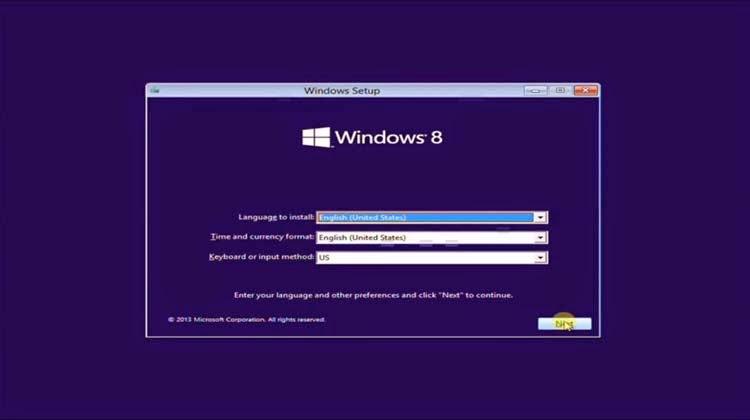 cara instal windows 8 di laptop