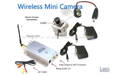 Mini CCTV Wireless Camera Pinhole